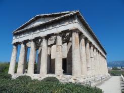 Temple d'Héphaïstos, Agora d'Athènes, août 2016