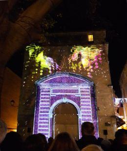 Place Notre Dame des Tables, Montpellier décembre 2016