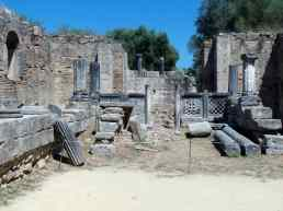 Site archéologique d'Olympie, août 2016