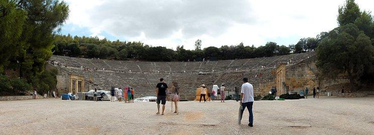 Site archéologique d'Epidaure, août 2016
